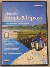 Microsoft Streets & Trips 2006 - Full Version for Windows DHMSCD04533WI, 2 disc