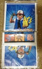 NEW  ~ POKEMON  32 PARTY TREAT BAGS  --BLUE --   PARTY SUPPLIES