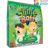 SLIME BAFF GUNKY GRÜN 2 BAD PACK SLIMY GOO GELLI JELLY BAD KINDER NEU
