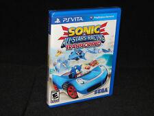 Sonic & All-Stars Racing Tranformed for Playstation Vita Brand New!