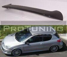 Peugeot 206 Rear Spoiler Roof Spoiler Heck wing Hatchback back door cover trim