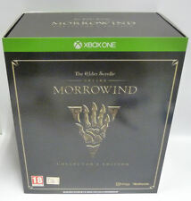MORROWIND THE ELDER SCROLLS ONLINE COLLECTOR'S EDITION XBOX ONE RARE NEW
