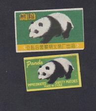 Ancienne   étiquette  Allumettes Chine  III7 Panda