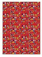X 12 Rolls Disney Minnie Mouse Clubhouse Gift Wrap 4M New & Sealed