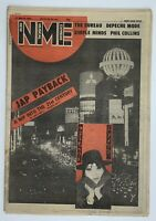 NME 21 March 1981 Depeche Mode Simple Minds Phil Collins The Bureau