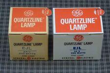 GE EJL 24V 200W Quartzline Lamp *Lot of 2