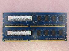 Hynix 2 GB DDR3 1333 MHz PC3 10600 240 Pin DESKTOP RAM Memory HMT125U6TFR8C-H9