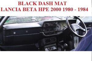 DASH MAT,DASH MAT FIT  LANCIA BETA 1980-1984 BLACK, POP UP DRIVER SIDE
