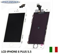 TOUCH SCREEN+LCD DISPLAY RETINA + FRAME PER APPLE IPHONE 6 PLUS 5.5  BIANCO