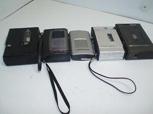 Vintage  Grundig, Sony tcm-82v,Craig 2605,GE cassette, Panasonic RQ-335 parts