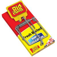 The Big Cheese Fresh Baited Mouse Rodent Trap Bait Kill 100% Catch Pest Control