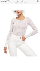 Free People Sweater / thermal top - NWT
