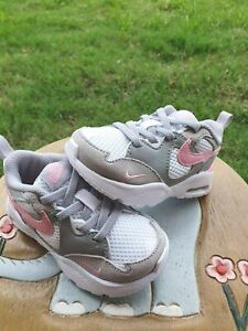 Nike Air Max Fusion Pink/White/Gray Girls' BRAND NEW Toddler 5C