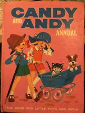 Candy & Andy 1969 ANNUAL Gerry Anderson Thunderbirds