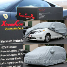 2015 TOYOTA SIENNA LE SE XLE Breathable Car Cover w/Mirror Pockets - Gray