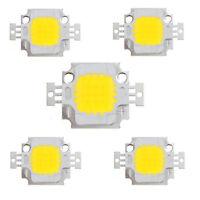 5PCS 10W LED Pure White 1100LM High Power Lamp SMD Chip Light Bulb DIY DC 9-12V