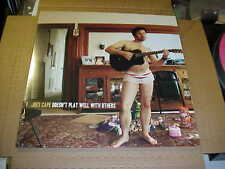 LP:  JOEY CAPE - Doesn't Play Well With Others NEW MAROON VINYL Ltd