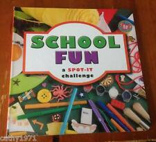 NEW SPOT IT Board Book For Toddlers - School Fun - 15cms x 15cms