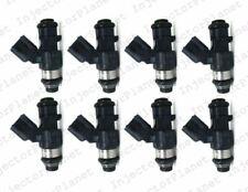Set of 8 DENSO 1130 fuel injector 2009 Hummer H2 6.2L V8 12609749