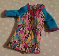BARBIE DOLL CLOTHING STACIE BLUE & PINK STARS RAINBOWS TOP SHIRT