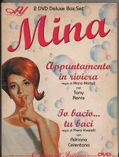 MINA 2 DVD APPUNTAMENTO IN RIVIERA Io bacio tu baci ADRIANO CELENTANO 2003