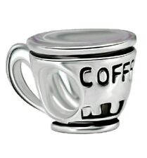 Charm Coffee Cup Bead Charm Fits European Charm Bracelets birthday  CH70