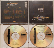 TOTO-greatest hits (2 CD, 1996, CBS)