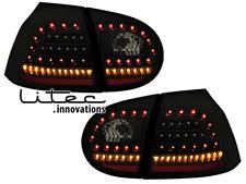 Fanali posteriori LITEC LED VW Golf V 5 03-09 nero/fumè