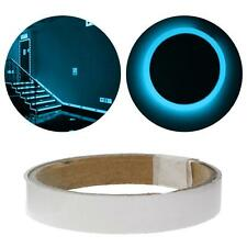 Blue Glow In The Dark Luminous Fluorescent Night Self-adhesive Sticker Tape SS06