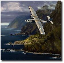 Dumbo by Jack Fellows - PBY-5A Catalina - Aviation Art Prints