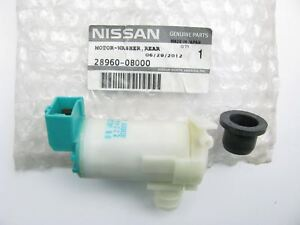 NEW GENUINE REAR Back Glass Washer Pump OEM For 1993-2004 Nissan Quest