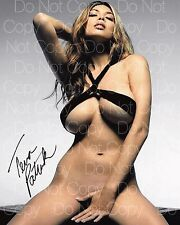 Tera Patrick signed Sexy hot nude beautiful 8X10 photo picture poster RP