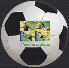 Australien 2006 Fußball-WM in Deutschland Block 61 postfrisch (C24232)