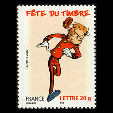 France 2006 - Day of the Stamp - Comics, Spirou - Sc 3187 MNH