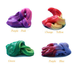 Temperature Change Turns Slime Magic Clay Putty Toy 4 Cans Different Colours ._