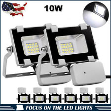 New listing 8 x 10W Pir Sensor Led Flood Light Cool White Outdoor Security Garden Spot Lamp