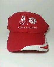 Beijing 2008 Olympics GE Partner Baseball Cap Hat Adjustable Adults Men Women