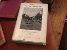 KEEBLE: Rawes 1936 hardback book hardy fruit growing hardback box50