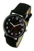 Armbanduhr Rückwärtslaufende Uhr Zeit zurück backwards Streber Nerd Gag Arm Band