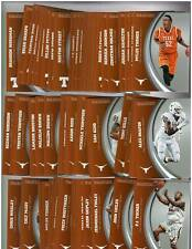2015 Panini Texas SILVER Collegiate Collection Complete 80 Card Set - NM-MT