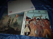 Die Große Revolution der Franzosen 1789 , Bildband , 1. Auflage 1989  ! /  DDR