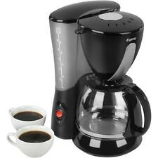 Elgento Filter Coffee Machine Maker - Black 800W 10 Cups E13007