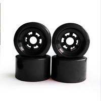 4pcs 83x52mm Longboard Wheel Road Racing Electric Skateboard Wheels PE Hub Red
