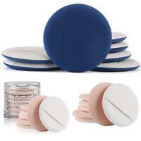 7PCS Round Latex Sponge Makeup Set Blush Powder Puff Applicator Face Air Cushion