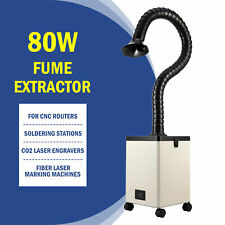 80w Pure Air Fume Extractor Smoke Purifier 3 Filter F Co2 Laser Engraver Cutter