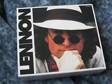 "JOHN LENNON 4 CD BOX SET ""LENNON "" RARE EMI JAPANESE IMPORT WITH OBI AND BOOKLET"