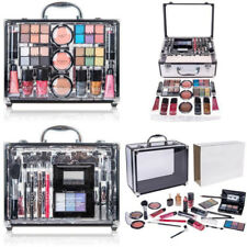 NEW Makeup Kit Carry All Trunk Reusable Aluminum Case Exclusive Holiday Gift Set