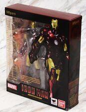 Bandai SH Figuarts Marvel Iron Man Mark 3 III S.H. Figure Authentic USA Seller