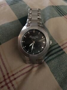 Kenneth Cole Mens Stainless Steel Watch