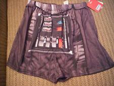 NWT STAR WARS DARTH VADER SMALL Mens Boxer Shorts - 100% Polyester
